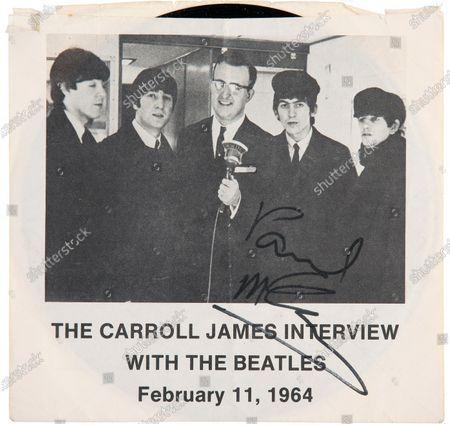 Editorial picture of Beatles memorabilia - 30 Jul 2020