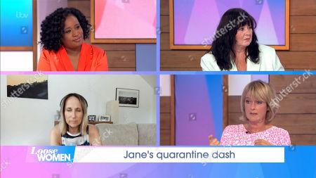 Charlene White, Coleen Nolan, Carol McGiffin, Jane Moore, Shania Twain