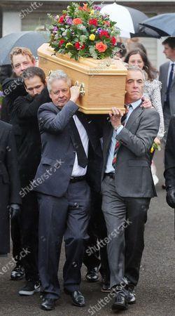 Editorial photo of Father of James Nesbitt, Jim Nesbitt funeral, Castlerock, Co Derry, Northern Ireland - 17 Aug 2020