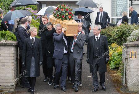 Editorial picture of Father of James Nesbitt, Jim Nesbitt funeral, Castlerock, Co Derry, Northern Ireland - 17 Aug 2020