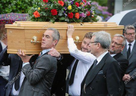 Editorial image of Father of James Nesbitt, Jim Nesbitt funeral, Castlerock, Co Derry, Northern Ireland - 17 Aug 2020