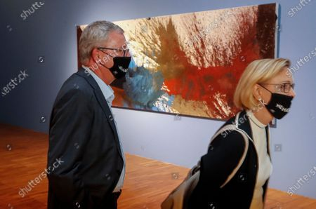 Editorial image of State Tretyakov Gallery presents Nitsch's paintings, Moscow, Russian Federation - 17 Aug 2020