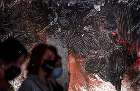 Editorial picture of State Tretyakov Gallery presents Nitsch's paintings, Moscow, Russian Federation - 17 Aug 2020