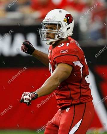 Arizona Cardinals running back Jason Wright is shown during the first half of an NFL football game against the Denver Broncos in Glendale, Ariz. The Washington Football Team has hired Jason Wright as team president. He's the first Black person to hold this job in NFL history and at 38 becomes the youngest team president in the league