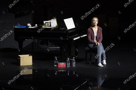 Stock Picture of Ursina Lardi performs during a rehearsal of the drama 'Everywoman' in Salzburg, Austria, 17 August 2020. Milo Rau's drama production will be staged at the Salzburg Festival, which runs from 01 to 30 August 2020.