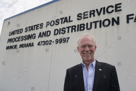 Editorial photo of Election 2020-Postal Service-Workers, Muncie, United States - 17 Aug 2020