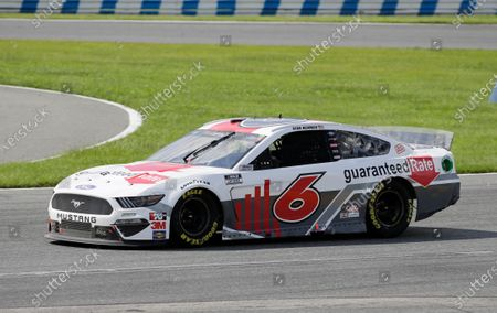 Ryan Newman drives through turn 3 during the NASCAR Cup Series auto race at Daytona International Speedway, in Daytona Beach, Fla