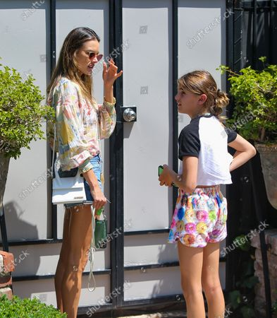 Editorial photo of Alessandra Ambrosio out and about, Los Angeles, USA - 17 Aug 2020
