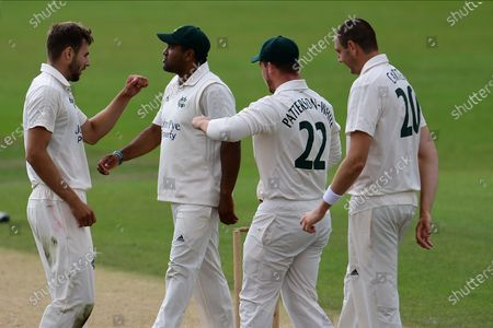 Editorial image of Lancashire County Cricket Club v Nottinghamshire County Cricket Club, Bob Willis Trophy - 18 Aug 2020