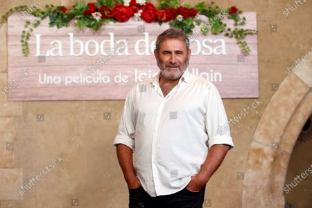 Sergi Lopez poses for the photographers during the presentation of their film 'Rosa's Wedding' in Madrid, Spain, 18 August 2020. The film opens in Spanish cinemas on 21 August 2020.