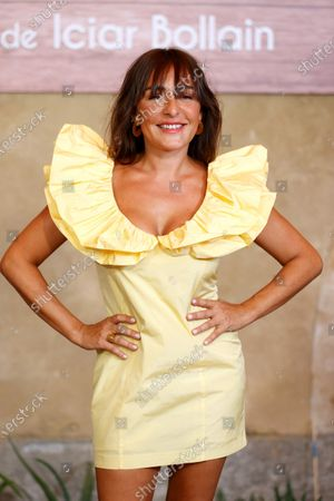 Candela Pena poses for the photographers during the presentation of her film 'Rosa's Wedding' in Madrid, Spain, 18 August 2020. The film opens in Spanish cinemas on 21 August 2020.