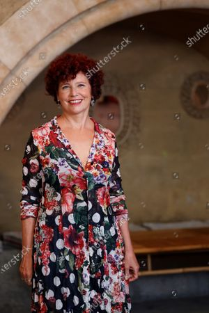 Iciar Bollain, poses for the photographers during the presentation of her film 'Rosa's Wedding' in Madrid, Spain, 18 August 2020. The film opens in Spanish cinemas on 21 August 2020.