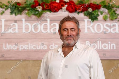 Stock Picture of Sergi Lopez poses for the photographers during the presentation of the film 'Rosa's Wedding' in Madrid, Spain, 18 August 2020. The film opens in Spanish cinemas on 21 August 2020.
