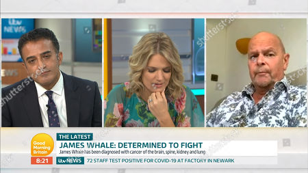 Stock Image of Adil Ray, Charlotte Hawkins, James Whale