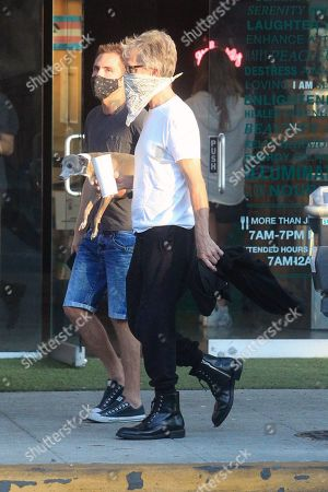 Editorial image of Andy Dick out and about, Los Angeles, USA - 17 Aug 2020