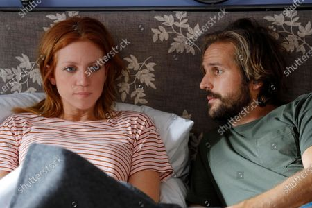 Stock Picture of Brittany Snow as Julia Bechley and Michael Stahl David as Donovan