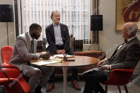 Mo McRae as Tim, Timothy Hutton as as Leon Bechley and Mark Blum as Dr. Lewis
