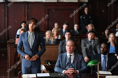 Megalyn Echikunwoke as Edie Palmer, Timothy Hutton as as Leon Bechley and Mo McRae as Tim