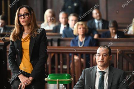 Victoria Cartagena as Amanda Doherty and Andrew Pang as Michael Cheng