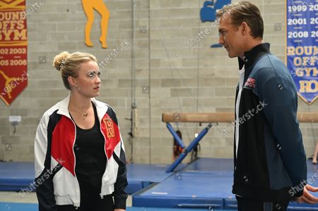 Emily Osment as Roxy Doyle and Jeff Hephner as Nick Cameron