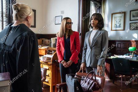 Molly Price as Judge, Victoria Cartagena as Amanda Doherty and Megalyn Echikunwoke as Edie Palmer