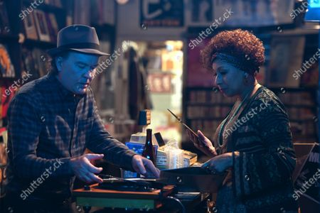 Timothy Hutton as Leon Bechley and Tamara Tunie as Genevieve
