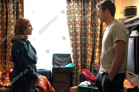 Brittany Snow as Julia Bechley and Chris Conroy as Sam