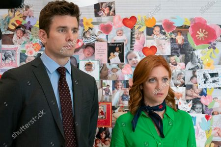 Chris Conroy as Sam and Brittany Snow as Julia Bechley