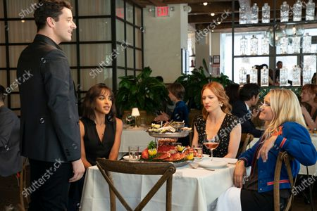 Michael Urie as Nate, Megalyn Echikunwoke as Edie Palmer, Brittany Snow as Julia Bechley and Emily Osment as Roxy Doyle