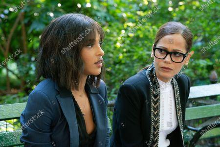 Megalyn Echikunwoke as Edie Palmer and Victoria Cartagena as Amanda Doherty