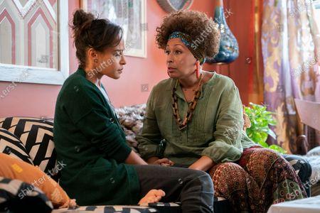 Megalyn Echikunwoke as Edie Palmer and Tamara Tunie as Genevieve