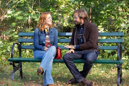 Brittany Snow as Julia Bechley and Michael Stahl David as Donovan