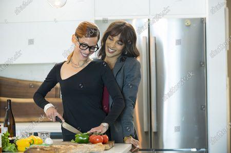 Victoria Cartagena as Amanda Doherty and Megalyn Echikunwoke as Edie Palmer