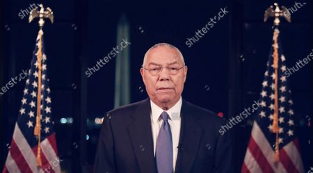 A framegrab from the Democratic National Convention Committee livestream showing former US Secretary of State Colin Powell speaking during the second night of the 2020 Democratic National Convention in Milwaukee, Wisconsin, USA, 18 August 2020. The convention, which was expected to draw 50,000 people to the city, is now taking place virtually due to coronavirus pandemic concerns.