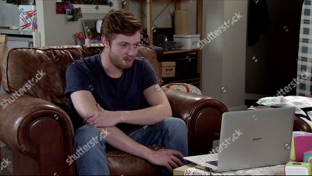 Coronation Street - Ep 10106 Wednesday 26th August 2020 As Daniel Osbourne, as played by Rob Mallard, witters on about Bertie, he realises Cherry is bored. Asserting that it just isn't working, Daniel ends the call and stares forlornly at Sinead's photo.
