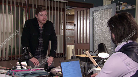 Coronation Street - Ep 10108 Monday 31st August 2020 Daniel Osbourne, as played by Rob Mallard.