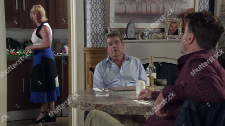 Coronation Street - Ep 10108 Monday 31st August 2020 Johnny's past returns to haunt him when Scott tells Jenny all about the crime they committed more than 40 years ago. With Scott, as played by Tom Roberts; Johnny Connor, as played by Richard Hawley.