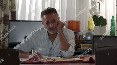 Stock Picture of Coronation Street - Ep 10109 Wednesday 2nd September 2020 Dev Alahan, as played by Jimmi Harkishin