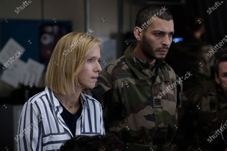 Lea Drucker as Catherine Durand and Adel Bencherif as Colonel Mustafa Mokrani