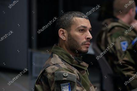 Stock Image of Adel Bencherif as Colonel Mustafa Mokrani