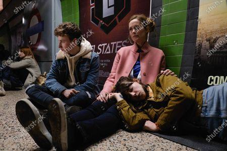 Stock Picture of Ty Tennant as Tom Gresham and Natasha Little as Sarah Gresham