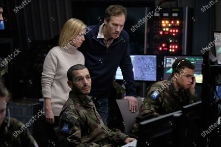Stock Picture of Lea Drucker as Catherine Durand and Adel Bencherif as Colonel Mustafa Mokrani