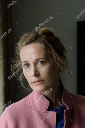 Stock Image of Natasha Little as Sarah Gresham