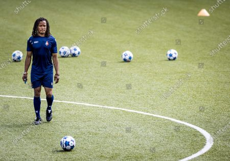 Dutch Edgar Davids during the training of Telstar in Velsen, 19 August 2020. He will work as assistant to head coach Andries Jonker.