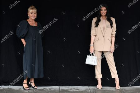 Editorial photo of Exclusive - 'The Only Way is Essex' TV show filming, London, UK - 19 Aug 2020