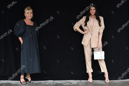 Editorial image of Exclusive - 'The Only Way is Essex' TV show filming, London, UK - 19 Aug 2020