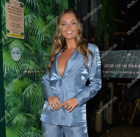 Editorial photo of Club L Summer Launch event, London, UK - 19 Aug 2020