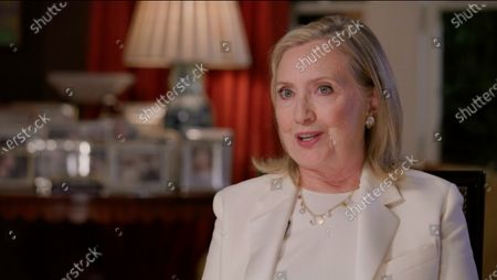In this image from the Democratic National Convention video feed, former United States Secretary of State Hillary Rodham Clinton, the 2016 Democratic Party nominee for President of the United States, and former US Senator from New York, makes remarks on the first night of the convention.