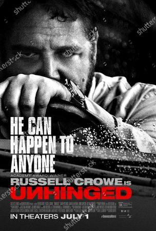Unhinged (2020) Poster Art. Russell Crowe as The Man