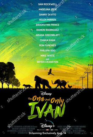 Editorial image of 'The One and Only Ivan' Film - 2020